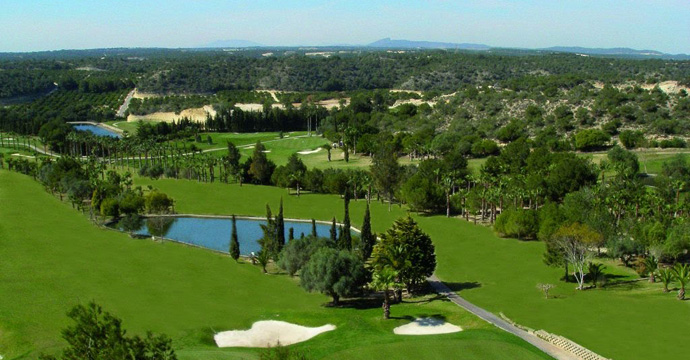 Golf Course in and around the Orihuela Costa