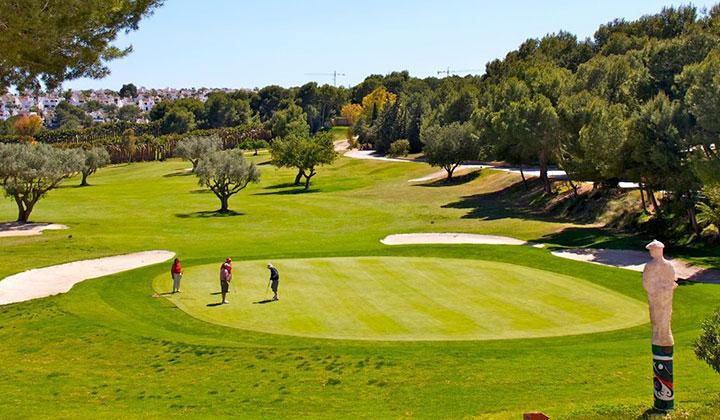 golf course near to villamartin rentals