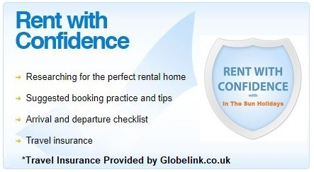 Rent With Confidence From In The Sun Holidays