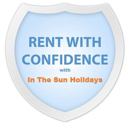 Rent with Confidence at In The Sun Holidays