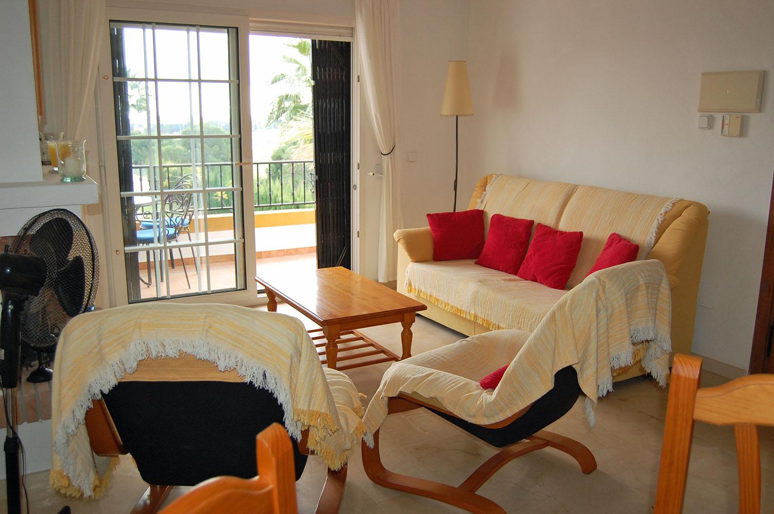 ITSH Property Spacious livingroom of the apartment in Los Dolses 4