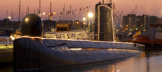 ITSH Property Submarine Delfin to visit in Torrevieja 17