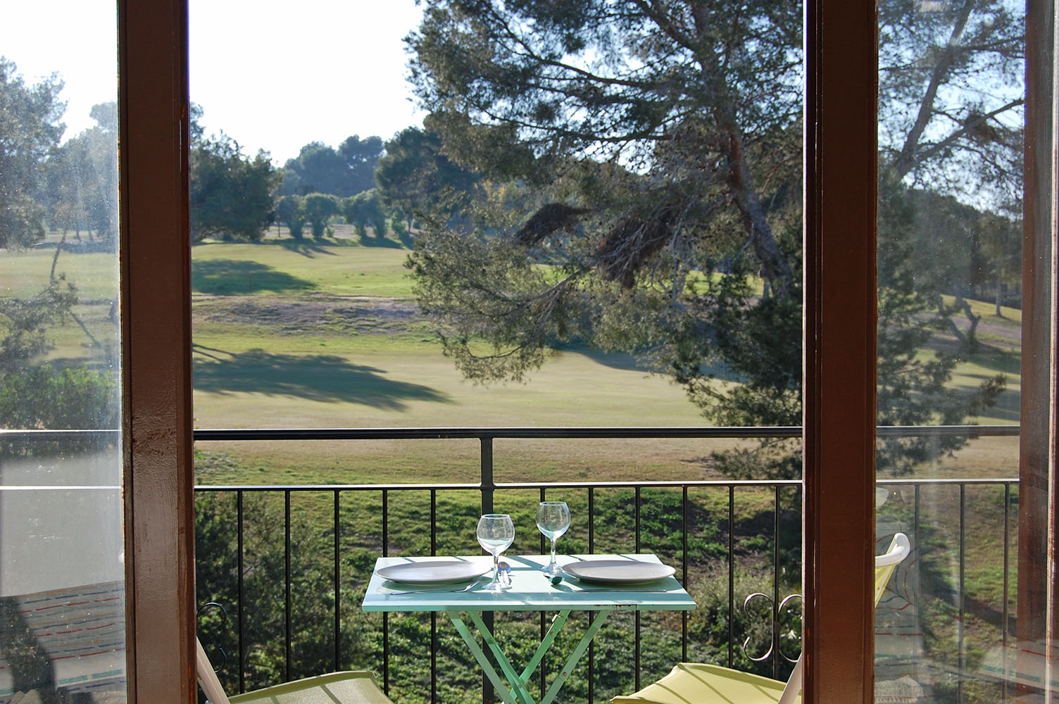 ITSH Property View from balcony to 1st hole of the Villamartin Golf Course 1