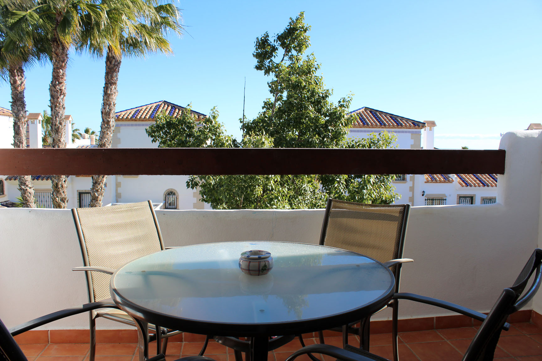 ITSH Property Large balcony with beautiful views all around and over looking the communal pool 10