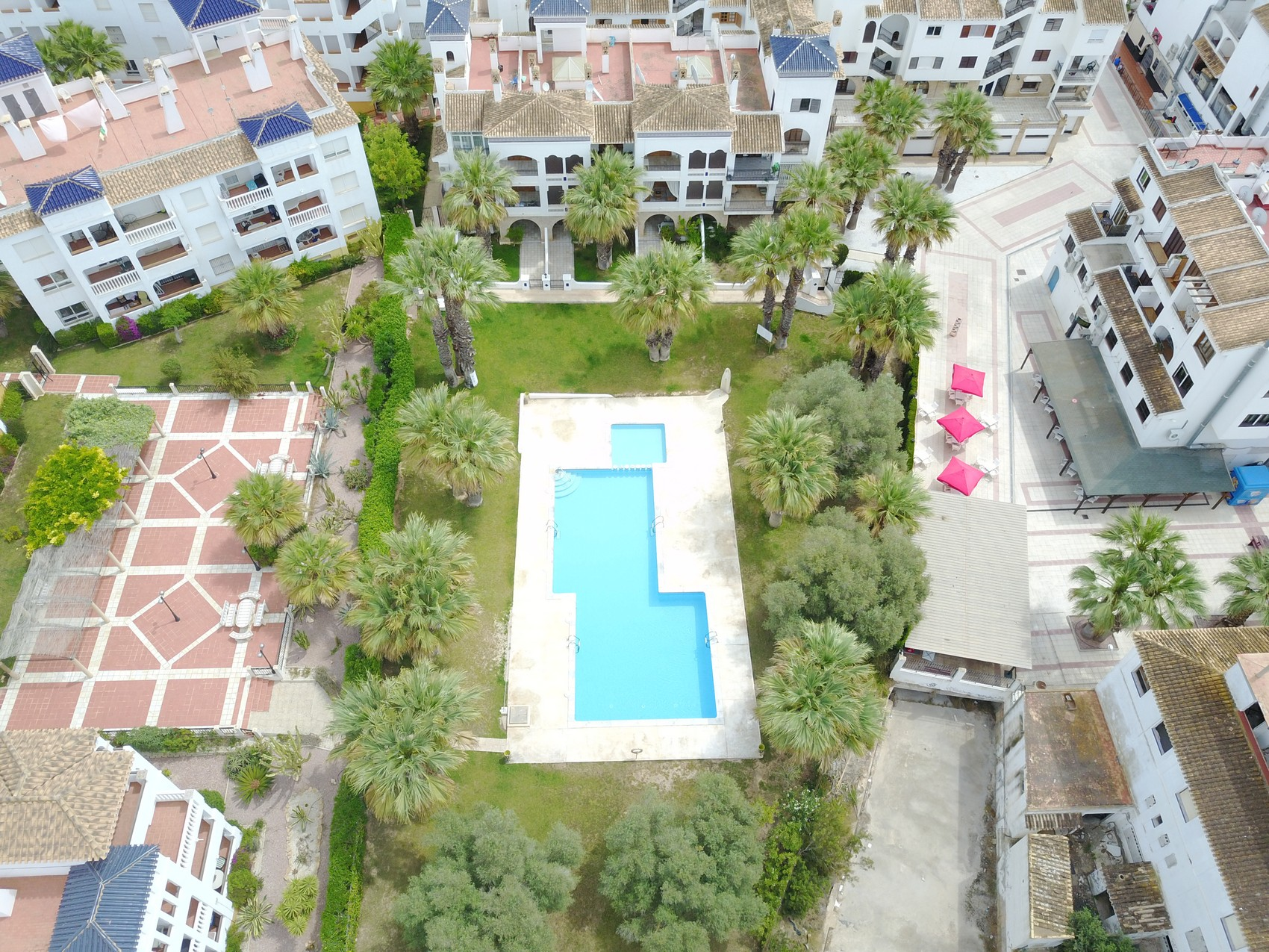 ITSH Property communal pool by Drone 3
