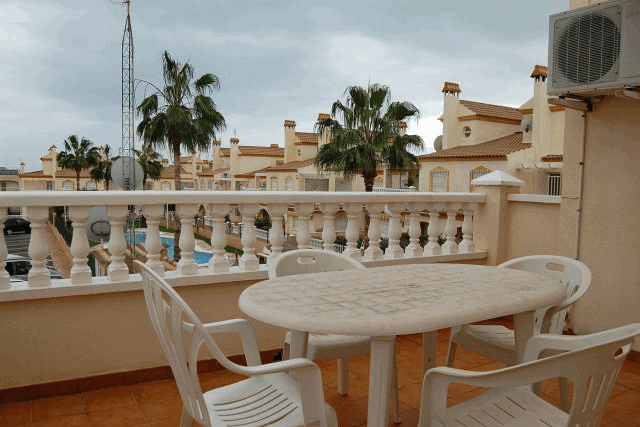itsh 1521881460TQWANP ref 1712 mobile 13 Large balcony great for the evenings upstairs Playa Flamenca